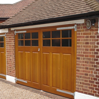 Side Hinged Garage Door